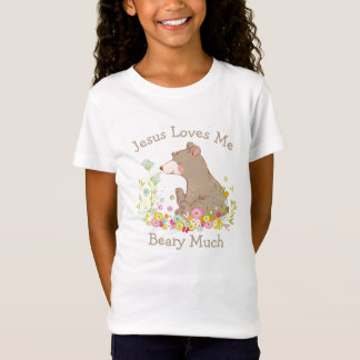 Jesus Loves Me Beary Much T-Shirt
