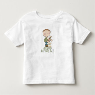 Jesus Loves Me Boy Toddler T-shirt