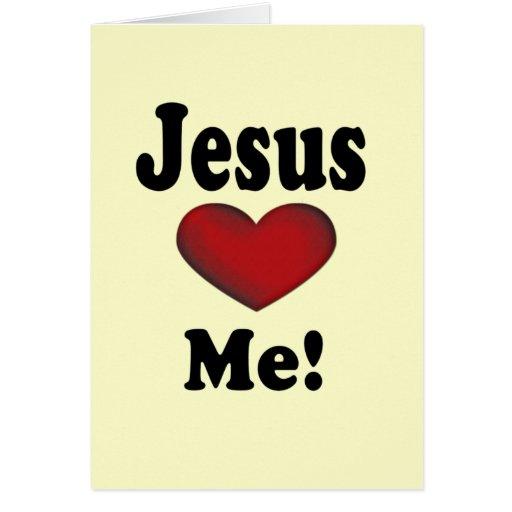 Jesus Loves Me Greeting Cards