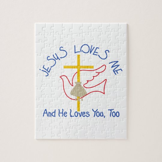 Jesus Loves Me Jigsaw Puzzle
