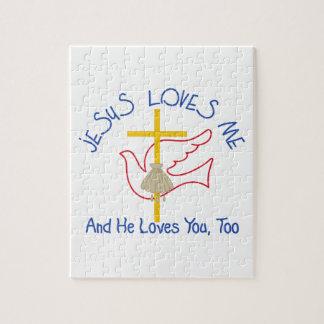 Jesus Loves Me Puzzles