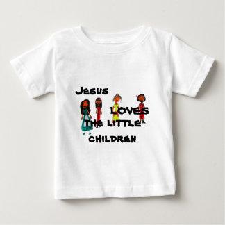 Jesus Loves the Little Children Baby T-Shirt