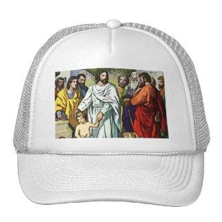 Jesus Loves The Little Children Trucker Hat