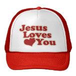 Jesus Loves you for Christians Trucker Hat