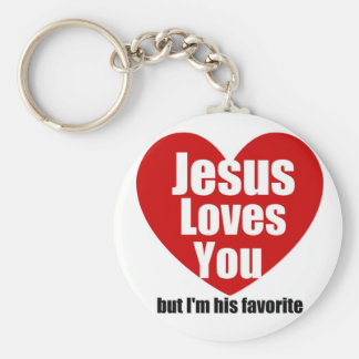 Jesus Loves You Keychain
