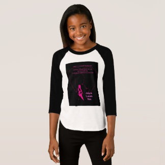 Jesus Loves You - Little Girl Purple T-Shirt