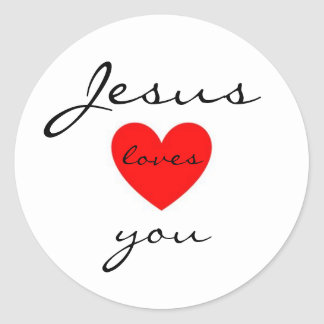 Jesus Loves You Sticker