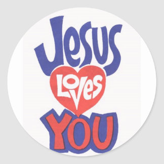 JESUS-LOVES-YOU Stickers