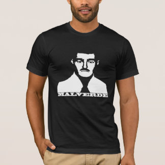 Jesus Malverde Stencil Shirt
