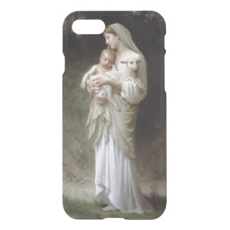 Jesus, Mary and the lamb. iPhone 8/7 Case