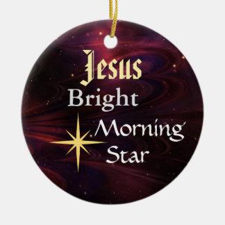 Jesus Morning Star Customized Ornament