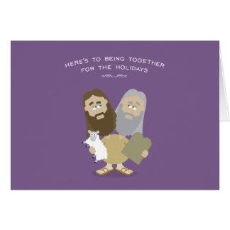 Jesus & Moses card