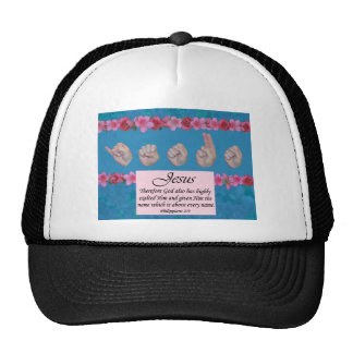 Jesus Name Above All Names Trucker Hat