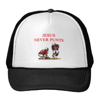 JESUS never punts Hat