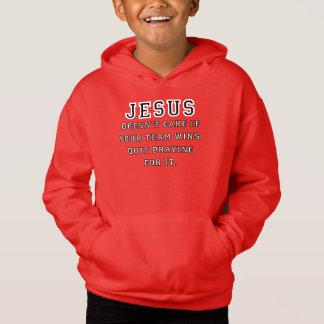 Jesus: Not a Sports Fan Black-White