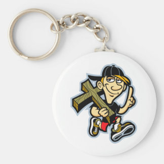 Jesus Number one Keychain