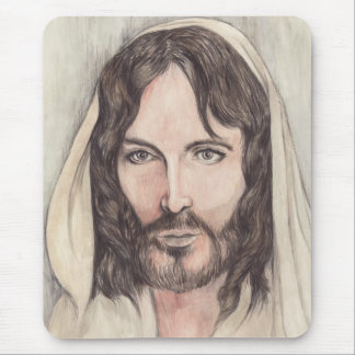 Jesus of Nazareth Mouse Pad