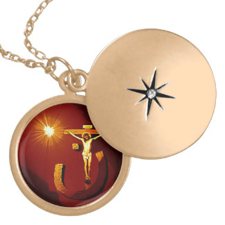 jesus of nazareth neckless locket necklace