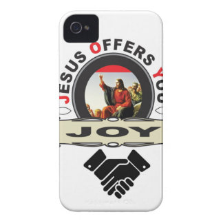 Jesus offers you joy logo iPhone 4 cover