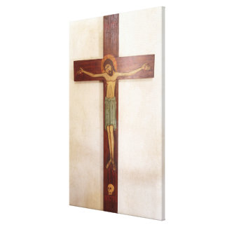 Jesus On The Cross Art Canvas Print