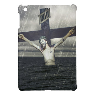 Jesus on the Cross at the Sea Case For The iPad Mini