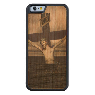 Jesus on the Cross at the Sea Cherry iPhone 6 Bumper Case