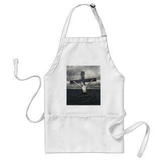 Jesus on the Cross at the Sea Standard Apron