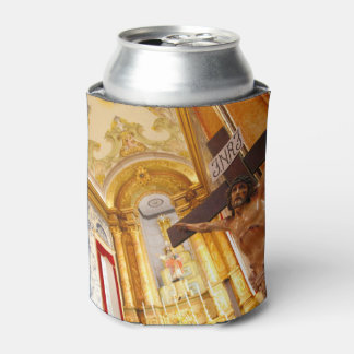 Jesus on the cross can cooler
