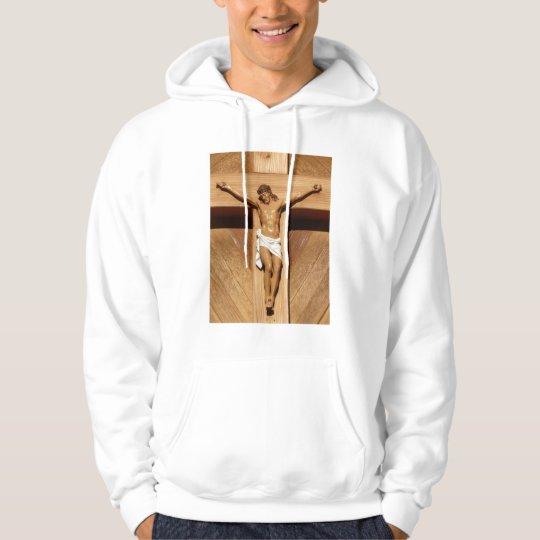 Jesus on the Cross Hoodie