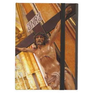 Jesus on the cross iPad air case
