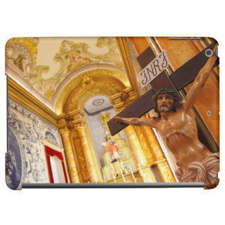 Jesus on the cross iPad air cases