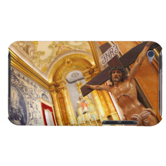Jesus on the cross iPod Case-Mate case