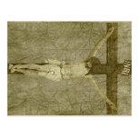 Jesus on the Cross Post Card