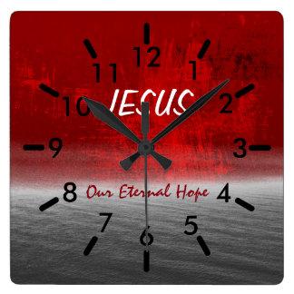 Jesus, Our Eternal Hope Wallclock