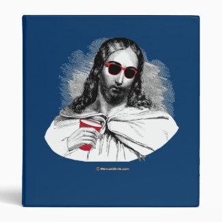 Jesus Party Animal Vinyl Binders
