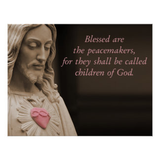 Jesus Peacemakers Poster