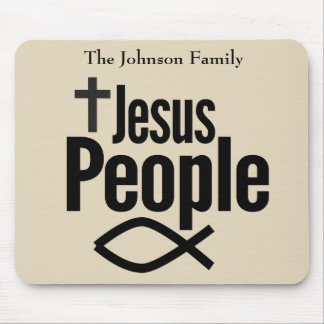 Jesus People Christian Mouse Pad