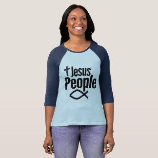 Jesus People Women's Raglan Shirt