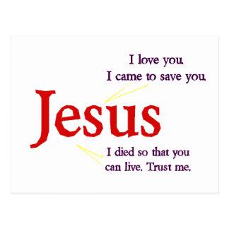 Jesus Postal Card