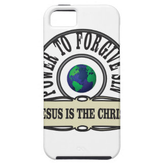 Jesus power forgive sin in world case for the iPhone 5