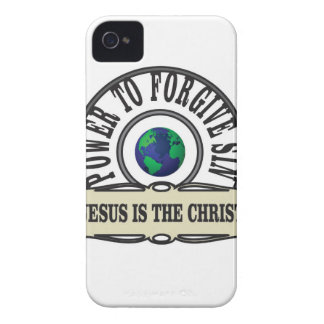 Jesus power forgive sin in world Case-Mate iPhone 4 case