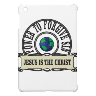 Jesus power forgive sin in world iPad mini cover