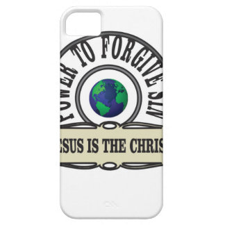 Jesus power forgive sin in world iPhone 5 case