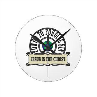 Jesus power forgive sin in world round clock