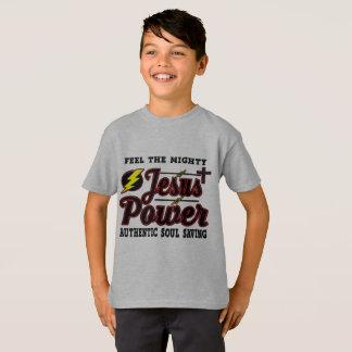 Jesus Power Hanes Kid's Shirt