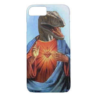 Jesus Raptor iPhone 7 Case