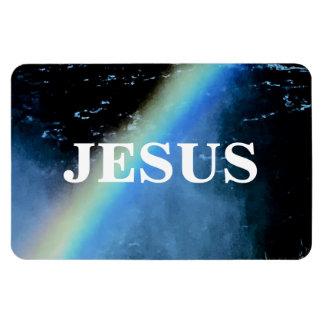 JESUS RECTANGULAR PHOTO MAGNET