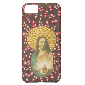 Jesus Red & White Cover For iPhone 5C