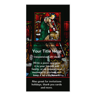 Jesus Rescues a Lamb of God Picture Card