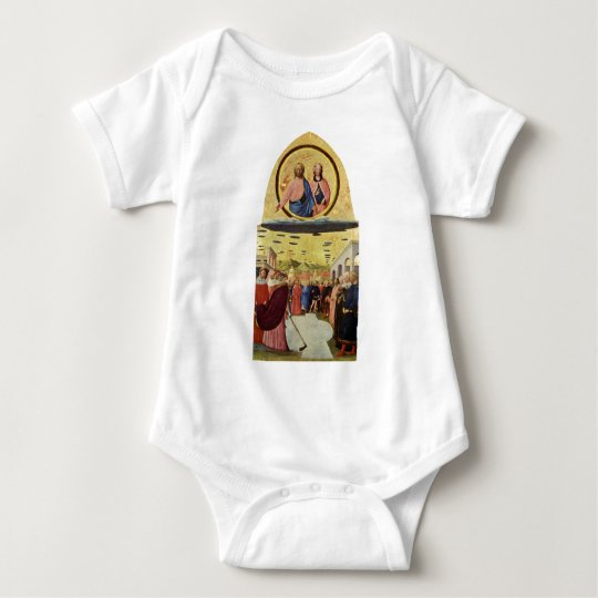 Jesus Rides a UFO Baby Bodysuit
